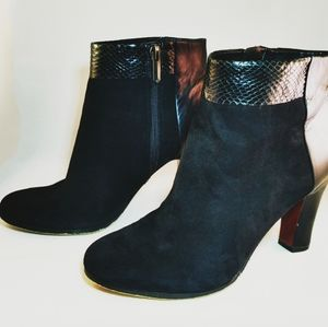 Sam Edelman suede high heeled ankle boots